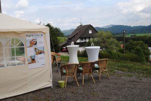 Bowtechstand Pfaus, Mühlenbach